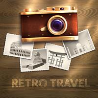 Retro Camera Background
