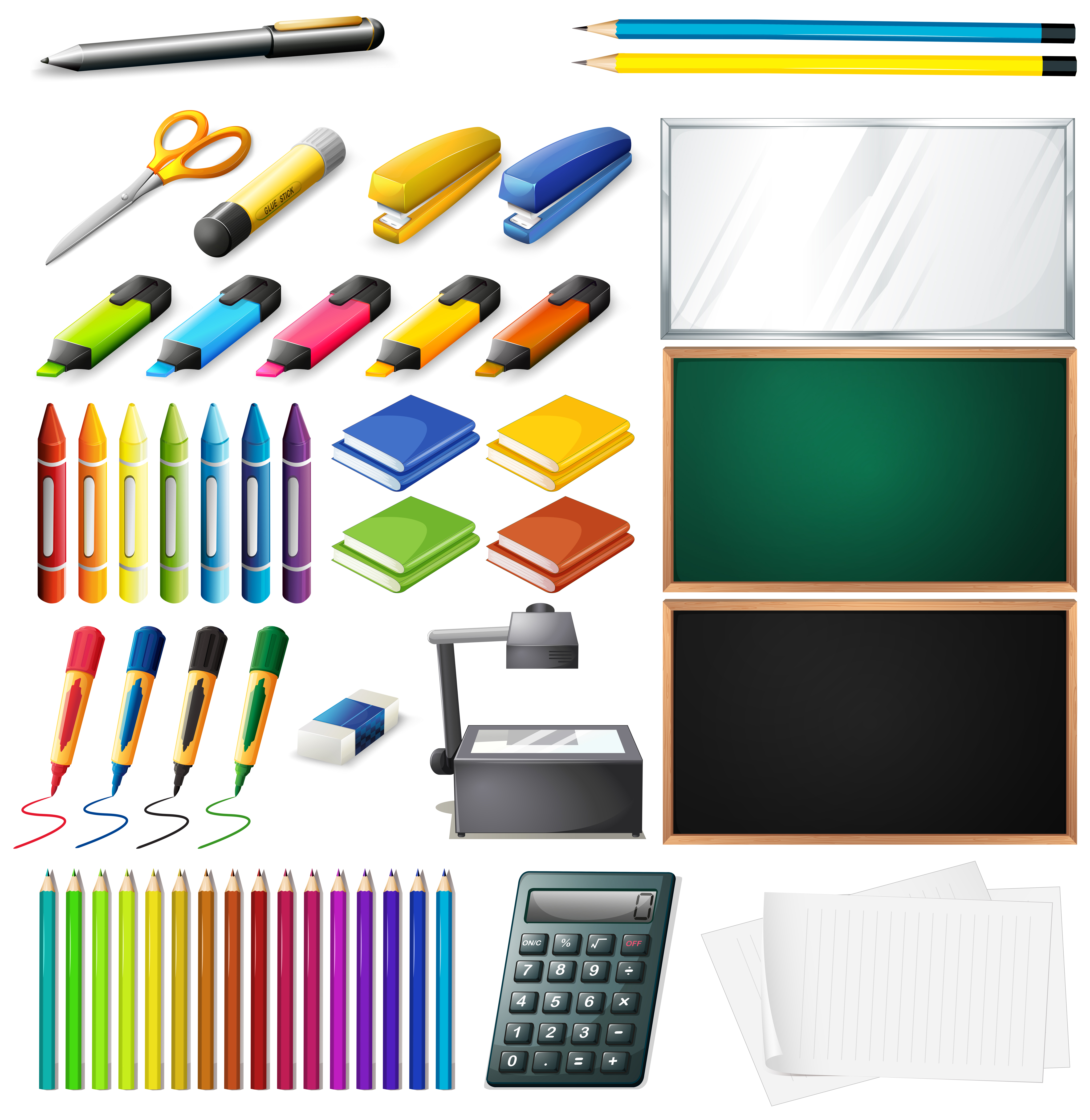 Diffe Types Of Office Supplies