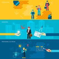 Construction Professions Banners