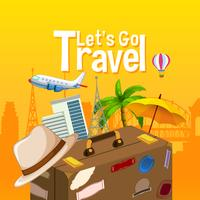 Let's go travel object vector