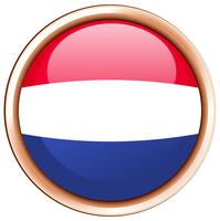 Round icon for Netherlands