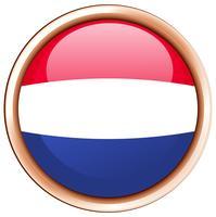 Runda ikon för Nederländerna