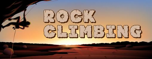 Design de fonte para escalada em rocha