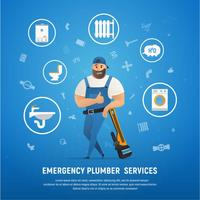 Handsome Company Plumber Service with Wrench