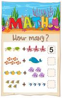 Write number matching worksheet