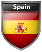 Icon design for flag of Spain