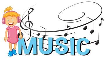 Diseño de fuentes con música de la palabra.