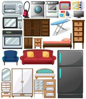 Different types of home appliances