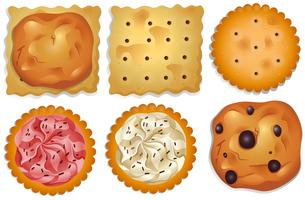 Galletas vector