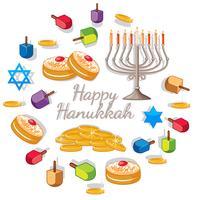 Haunkkah heureuse avec différents éléments pour le festival