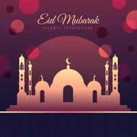 Eid Mubarak-Vektor