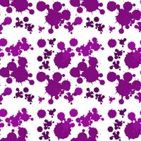 Seamless background design with purple splash