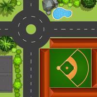 Honkbal veld