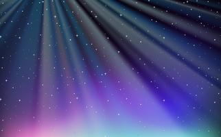Hintergrunddesign mit blauem Himmel nachts