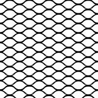 Steel Grid Monochrome Seamless Pattern vector