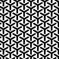 Modèle sans couture grille géométrique vecteur