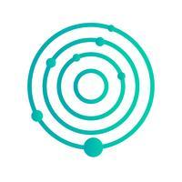 Icono de Vector de Sistema Solar