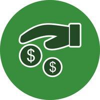 Vector icono de pago