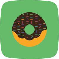 Ícone de donut de vetor