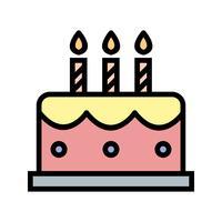 vektor tårta ikon