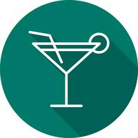 Vector cocktail pictogram