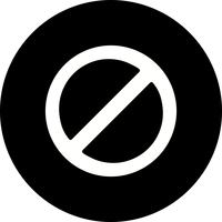 Forbidden Vector Icon