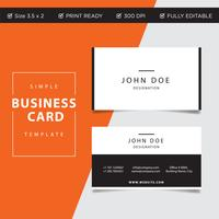 Creative Business card concept design, abstract vector print ready