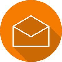 Vector envelop pictogram