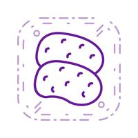 Vector Potatoes Icon