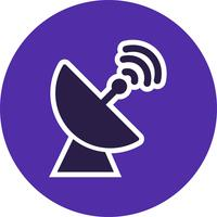 Satellite Dish Vector Icon