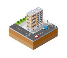 Icône urbaine de la ville