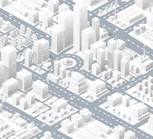 Distrito urbano da cidade