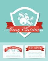Feestelijke banner van Kerstmis