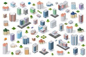 conjunto de distrito urbano