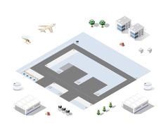 Set of isometric objects