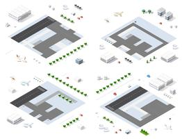 Set of isometric modules