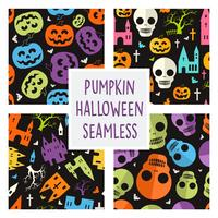 Pumpkin Halloween pattern