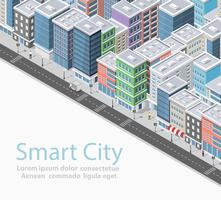 Smart City isometrisch