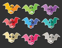 Emoji emoticon expression vector