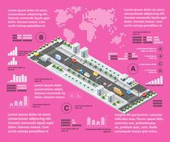 Lila illustration infographics