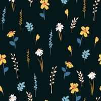 Abstrakte nahtlose mit Blumenmuster.