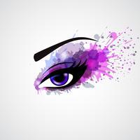 Grunge Auge