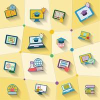 Icona di educazione online