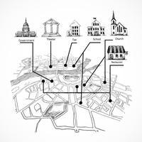 Información del mapa de la ciudad