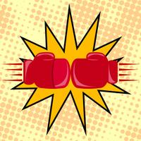 Boxerhandskar slår