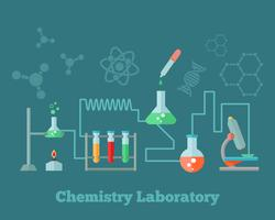 Chemistry research concept