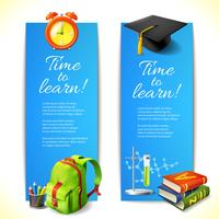 Time to learn vertical banners