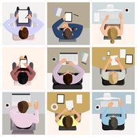 Zakelijke kantoormedewerkers