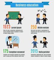 Business education concept vector