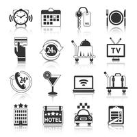 Hotel Icons Set